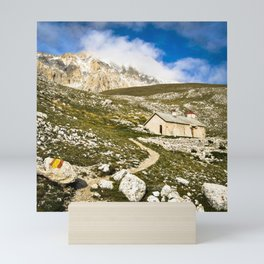 on the Mountain Mini Art Print