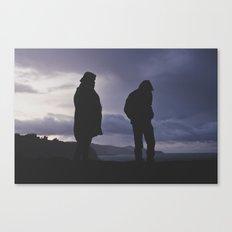 Calm  Before Storm Canvas Print