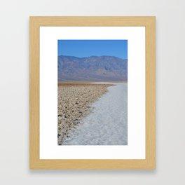 Badwater Basin 1 Framed Art Print