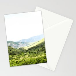 Utah Mountain Valley Stationery Cards