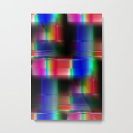 Multicolored abstract no. 36 Metal Print