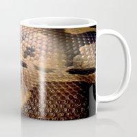 anaconda Mugs featuring Anaconda by theGalary