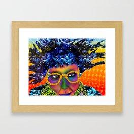 sister dana Framed Art Print