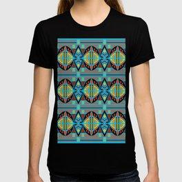 African Tribal Motif Pattern T-shirt