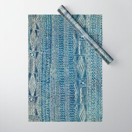 Ndop Cameroon West African Textile Print Wrapping Paper