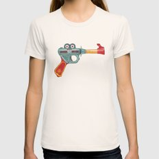 Gun Toy Womens Fitted Tee MEDIUM Natural