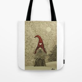 "Old ""Tomten Elmer"" is longing for Christmas time. Tote Bag"