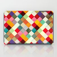 colorful iPad Cases featuring Pass this On by Danny Ivan