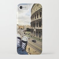 rome iPhone & iPod Cases featuring Rome by Davide Bergamini
