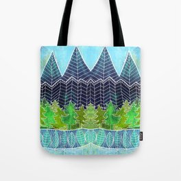 Magical Mountain Forest Tote Bag