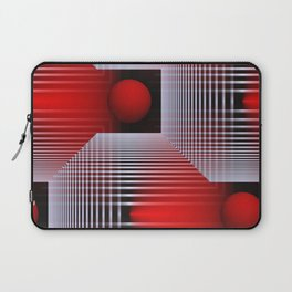 3D - abstraction -50- Laptop Sleeve