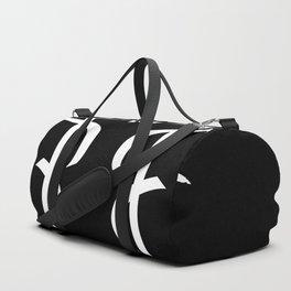 Bamboolian White Duffle Bag