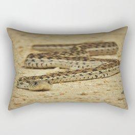 Garter snake Rectangular Pillow