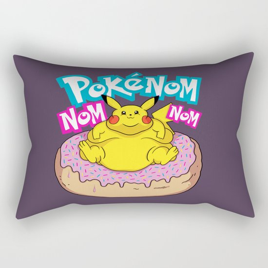 PokenomNOM Rectangular Pillow
