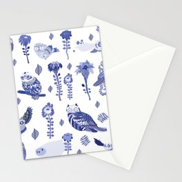 owl index Stationery Cards