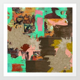 Abstract Radiant Child Art Print