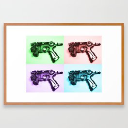 Ray Gun A Framed Art Print