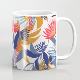 Australian native floral on a cream base Coffee Mug