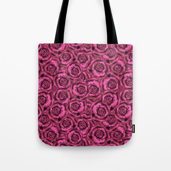 Pink roses. Pattern. Tote Bag