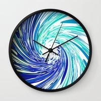 focus Wall Clocks featuring FOCUS by Chrisb Marquez