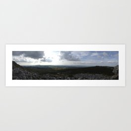 Looking West - iPhoneography Art Print