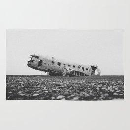 SOLHEIMASANDUR PLANE WRECK / Iceland Rug