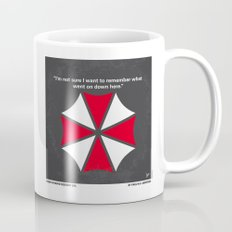 No119 My RESIDENT EVIL minimal movie poster Mug