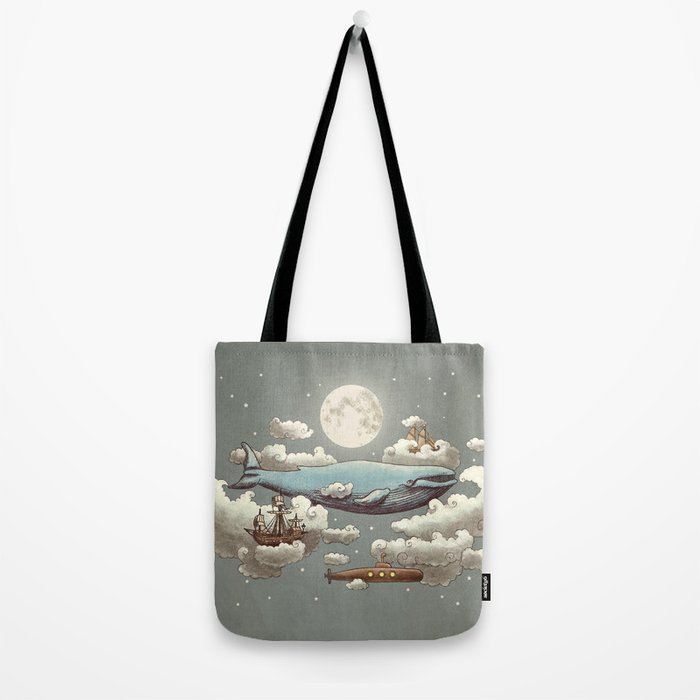 Ocean Meets Sky Tote Bag