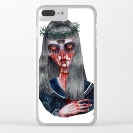 Gogo Yubari Clear iPhone Case