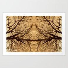 Branches x2 Art Print