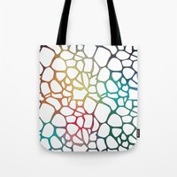 Abstract Net Tote Bag