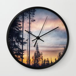 Sensational Sunset Wall Clock