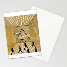 walking to nowhere Stationery Cards