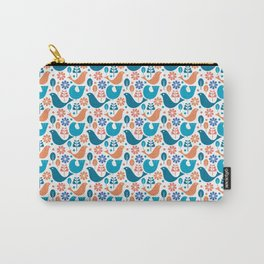 Birds & Flowers Carry-All Pouch