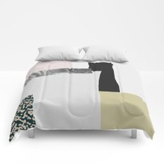 On the wall Comforters