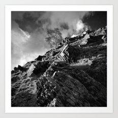 Up The Hill Backwards Art Print