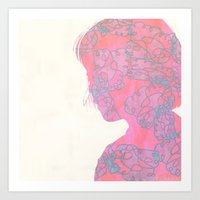Blossom me...Blossom you Art Print