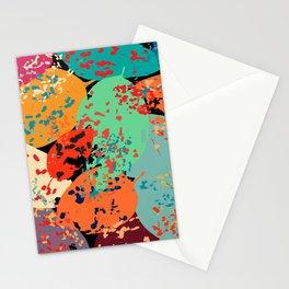 Sprinkled Leaves Stationery Cards