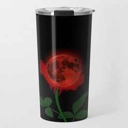 Blood Moon Rose Travel Mug