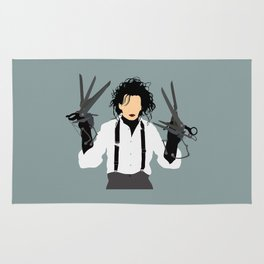 edward scissorhands Rug