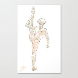 Balletlock Canvas Print