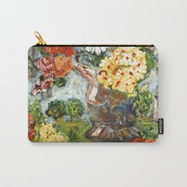 Flowers,  Fruit and a Cathedral Carry-All Pouch