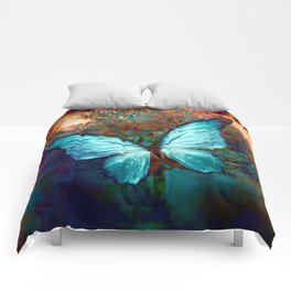 The Blue butterfly Comforters