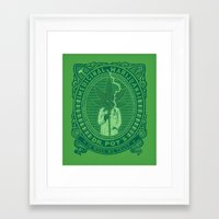 marijuana Framed Art Prints featuring Medicinal Marijuana by victor calahan