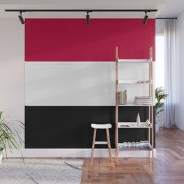 Yemen flag emblem Wall Mural