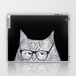 Intelligent cat Laptop & iPad Skin