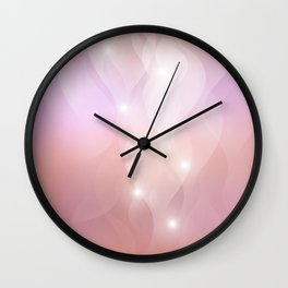The Sound of Light and Color  Wall Clock