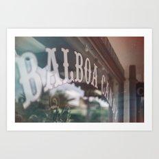 Balboa Candy Art Print