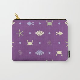Under the sea (Purple) Carry-All Pouch