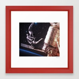 Acrobat Framed Art Print